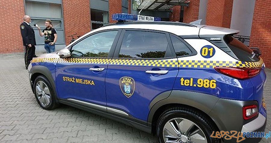 Nowy radiowóz Straży Miejskiej  Foto: Straż Miejska / materiały informacyjne