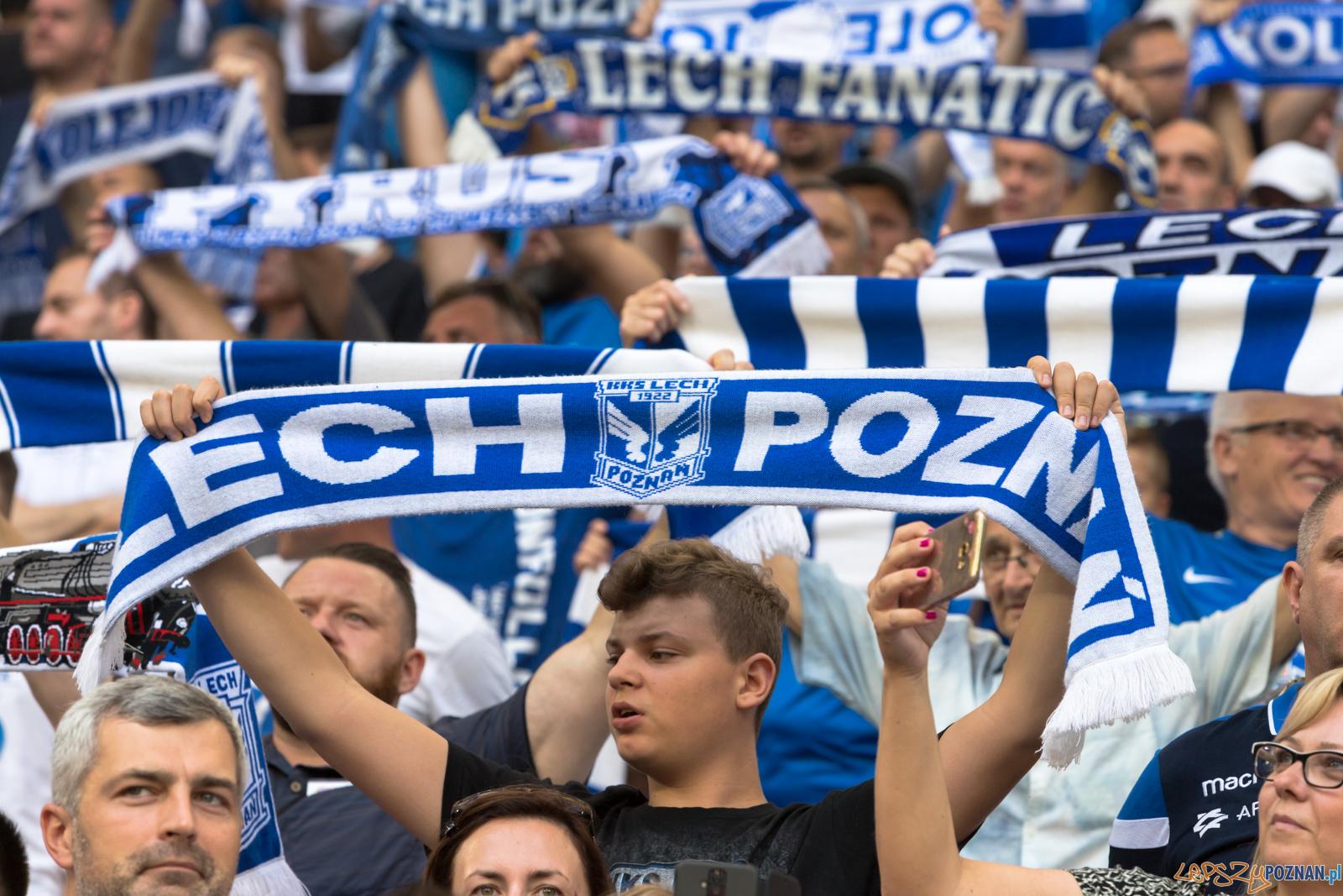 Lech Poznań - Cracovia (najlepsi kibice na świecie)  Foto: lepszyPOZNAN.pl/Piotr Rychter