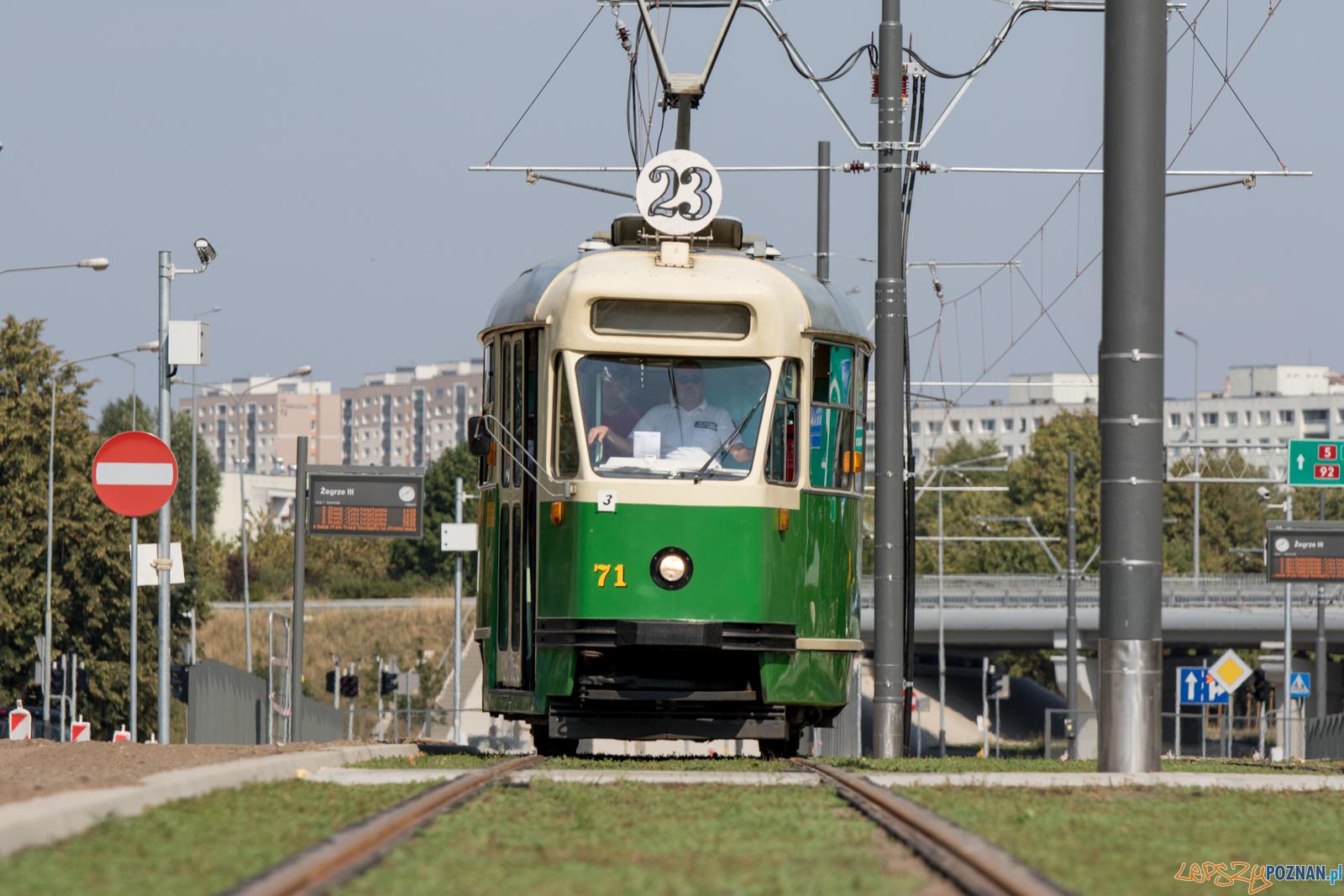 Linia Turystyczna na GTR  Foto: lepszyPOZNAN.pl / Ewelina Jaśkowiak