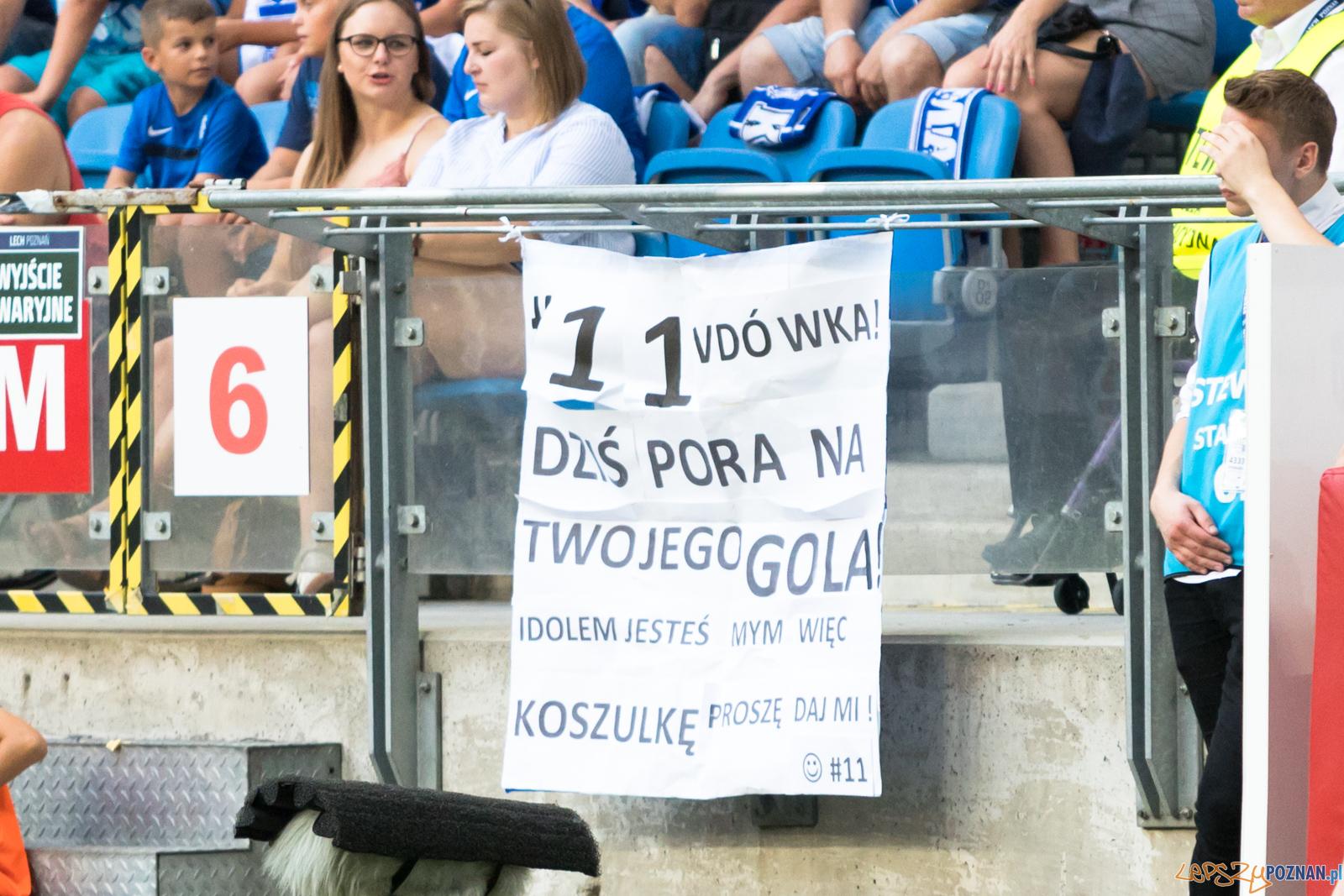 Lech Poznań - Cracovia  Foto: lepszyPOZNAN.pl/Piotr Rychter