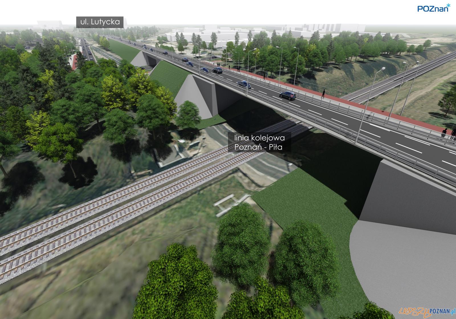 Przetarg na projekt wiaduktów przy ulicach Lutyckiej i Golęcińskiej  Foto: materiały prasowe / PIM