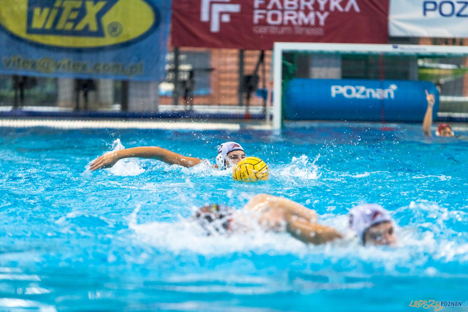 Waterpolo Cup 2019 - Hornets Koszyce - Kszo Ostrowiec Świętokr  Foto: lepszyPOZNAN.pl/Piotr Rychter