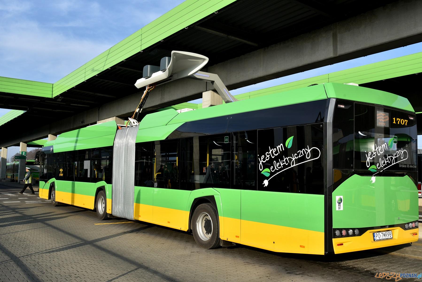 AUtobus elektryczny  Foto: materiały prasowe / UMP