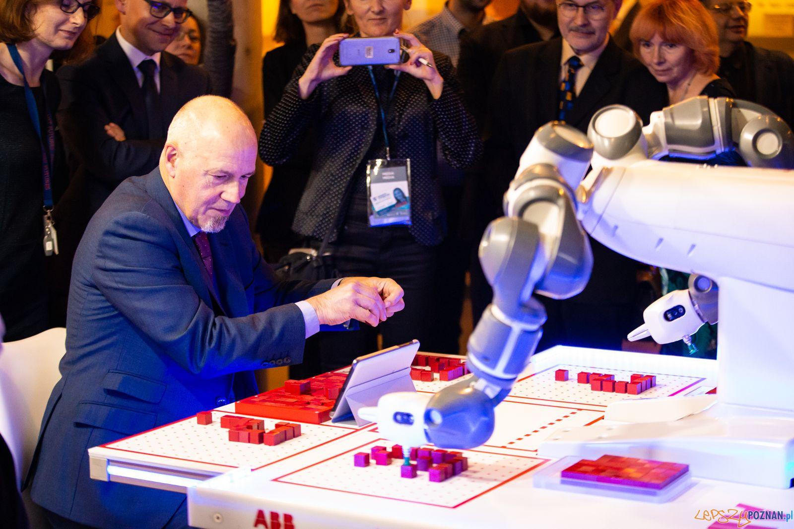 Roboty w Poznaniu (3)  Foto: Europejski Tydzień Robotyki - materiały prasowe
