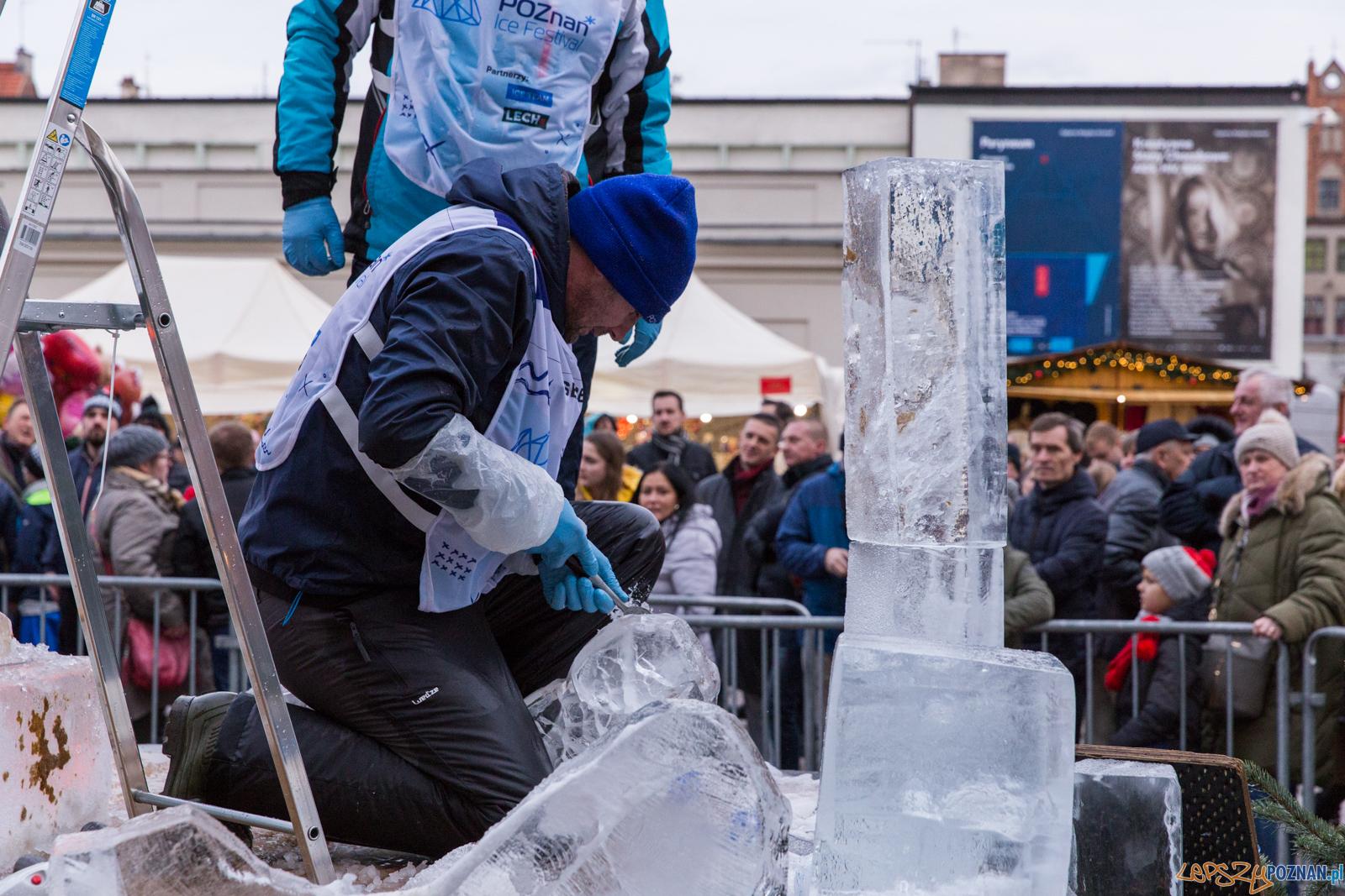 Poznań Ice Festival 2019 - Poznań 8.12.2019 r.  Foto: LepszyPOZNAN.pl / Paweł Rychter