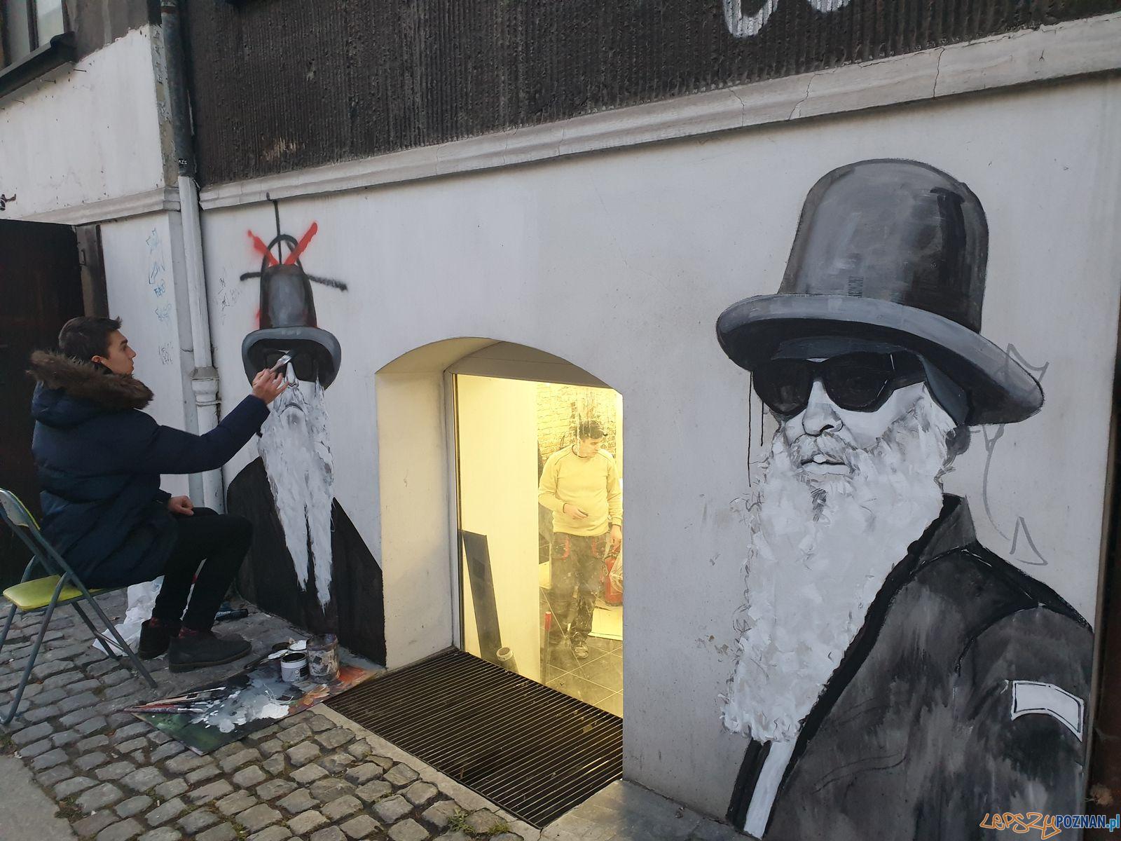 Murale na Mostowej - ulica Krokodyli (7)  Foto: materiały prasowe MZD