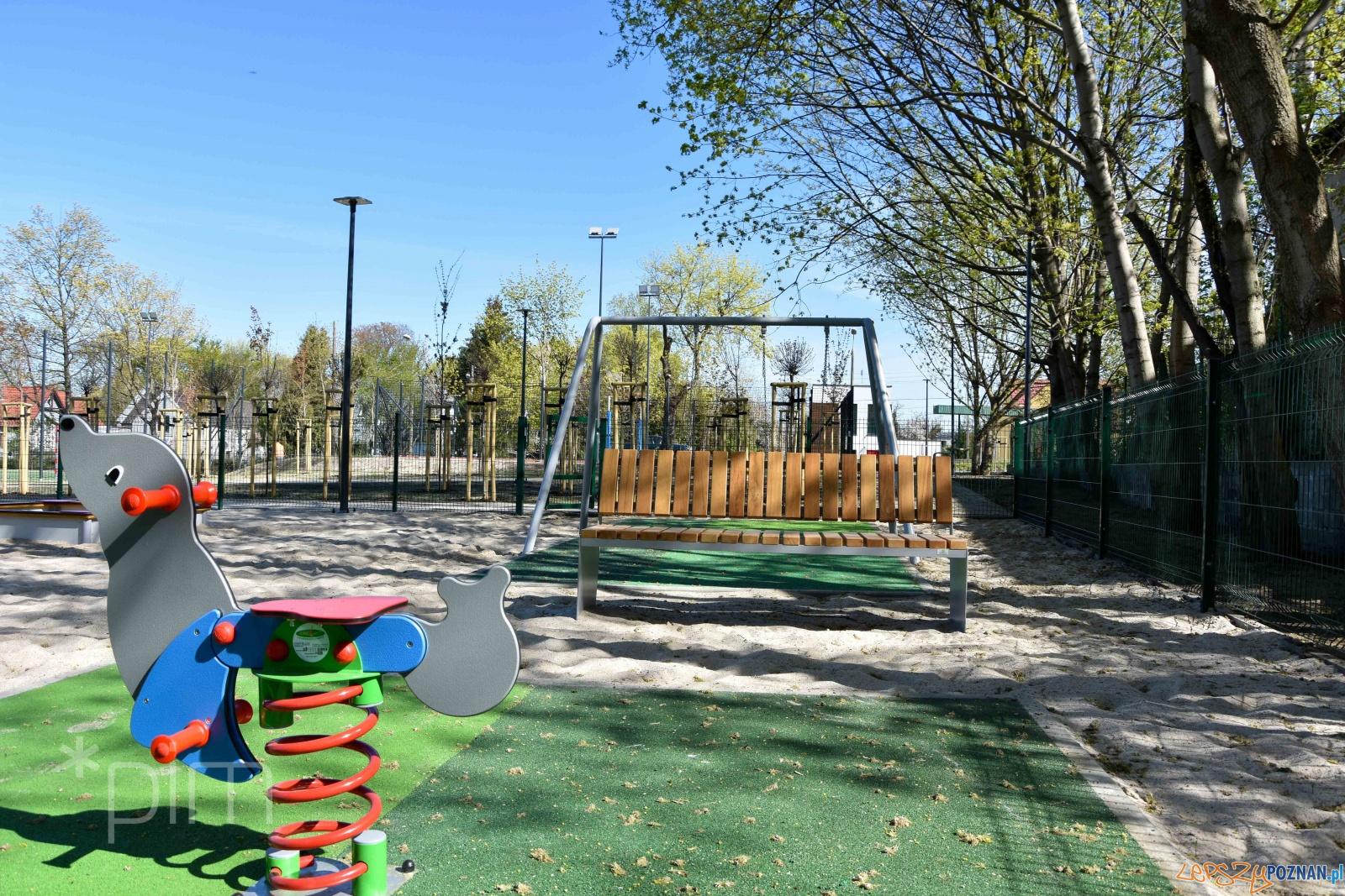Park Rekreacji Starołęka Mała (prawie) gotowy  Foto: PIM