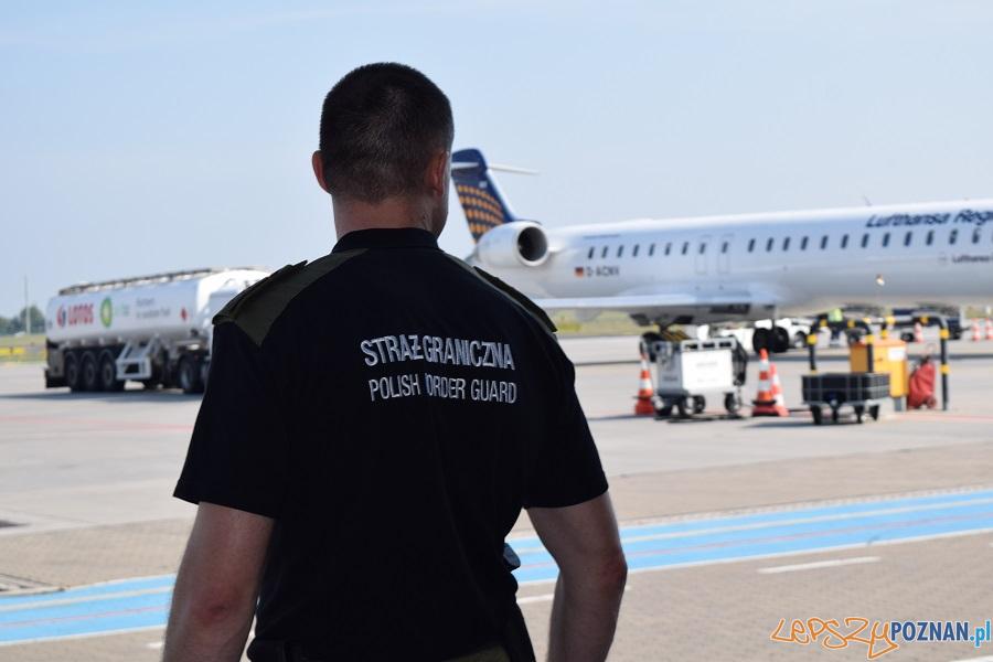 Nielegalnie dostali się do Polski ukryci między workami z pyrami  Foto: Straż Graniczna