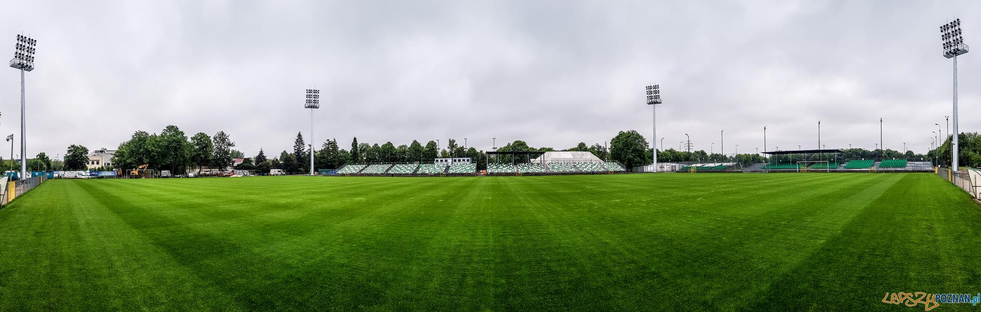 Jupitery na stadionie Warty Poznań  Foto: Piotr Leśniowski / Warta Poznań