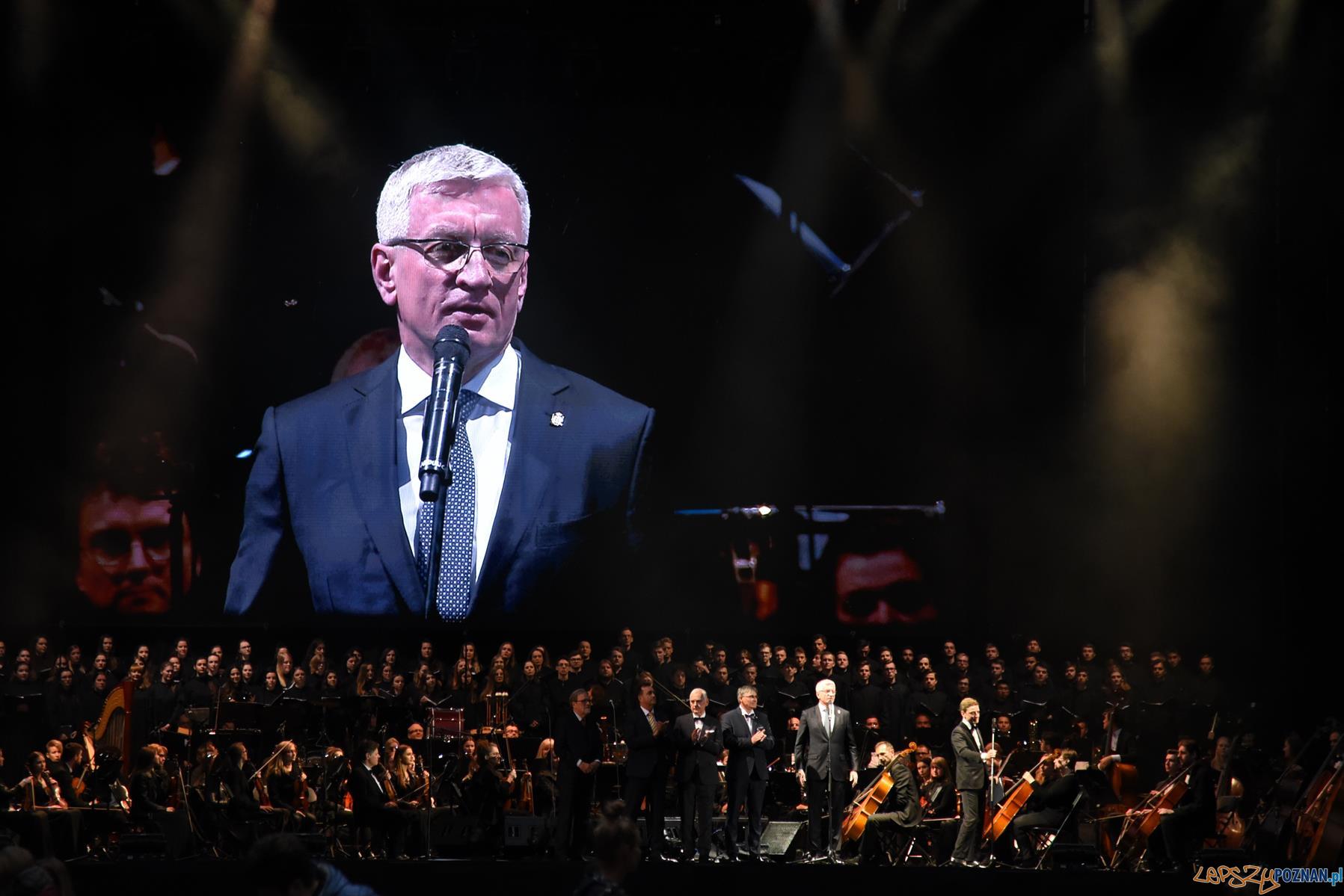 Andrea Bocelli - koncert w Poznaniu - Jacek Jaśkowiak, prezydent Poznania  Foto: UMP