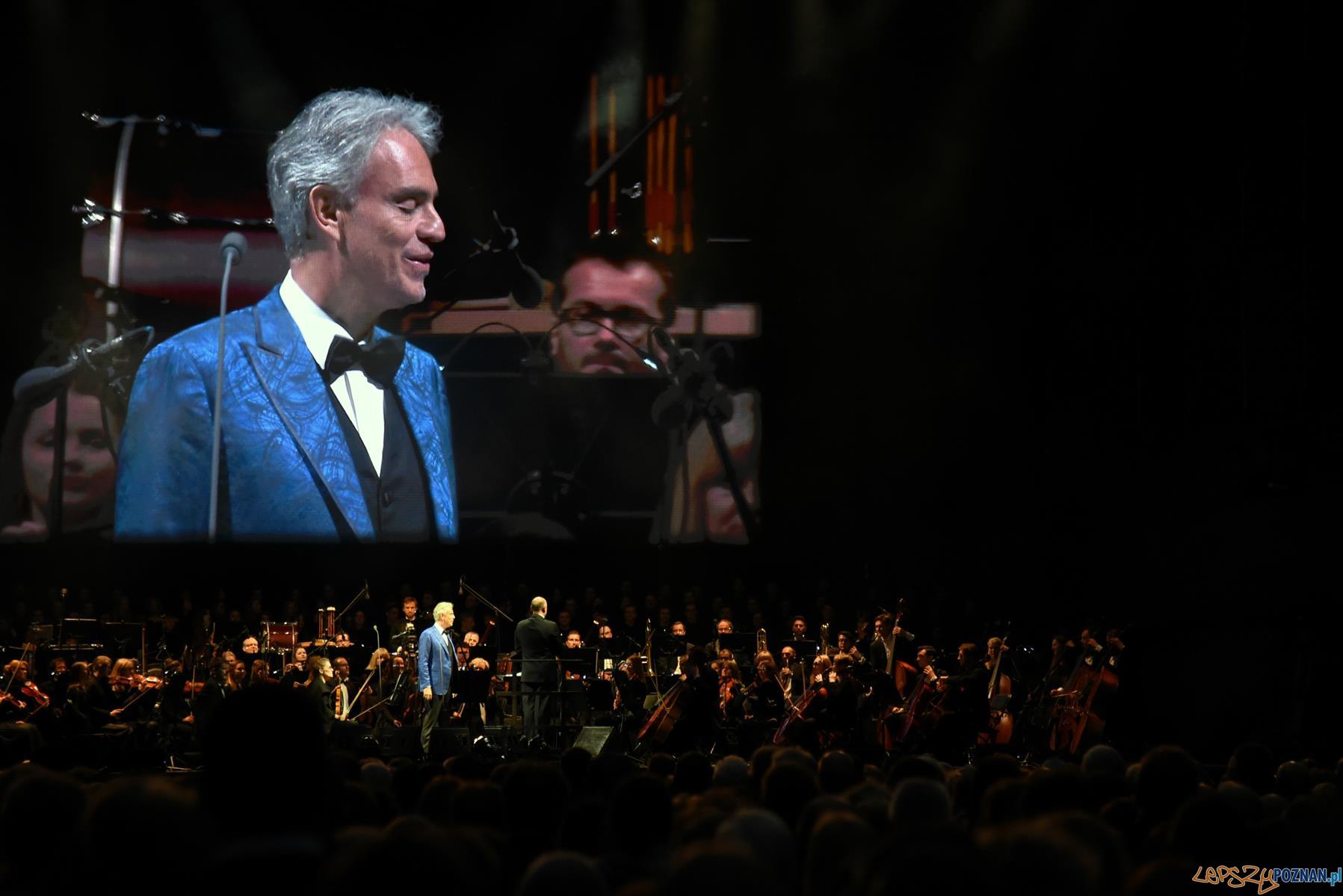 Andrea Bocelli - koncert w Poznaniu  Foto: UMP