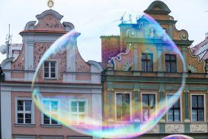 Stary Rynek - bańka mydlana  Foto: lepszyPOZNAN.pl/Piotr Rychter