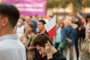 Wieczór wyborczy na placu Wolności  Foto: lepszyPOZNAN.pl/Piotr Rychter
