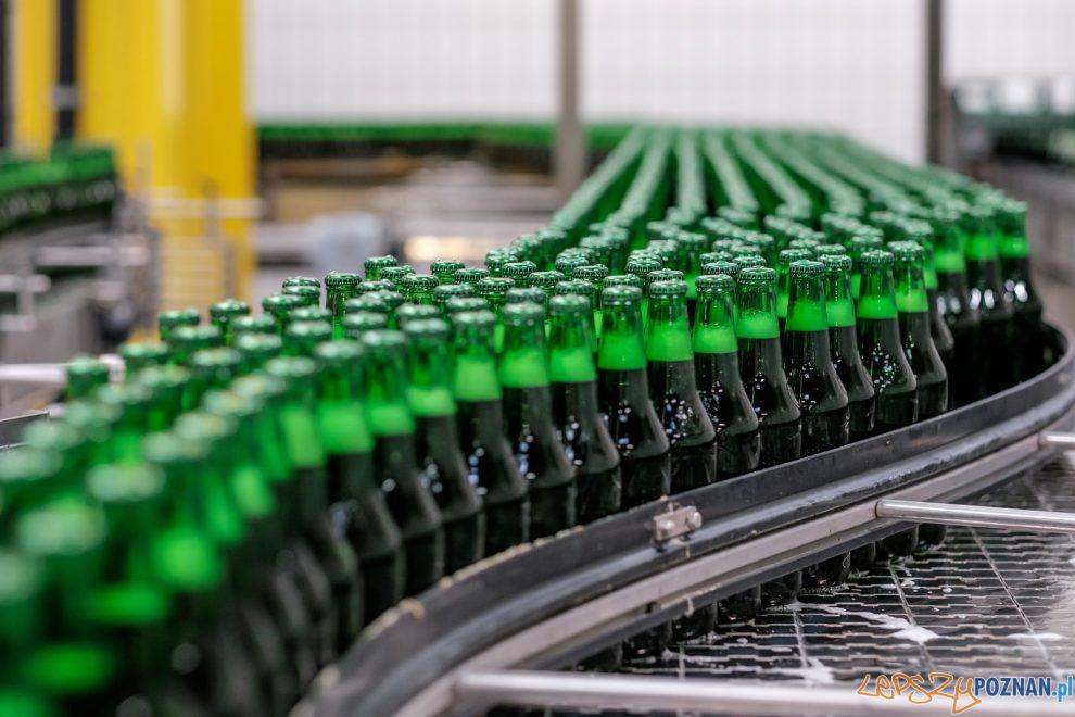 Skup butelek - butelki wielokrotnego użytku  Foto: materiały prasowe Kompanii Piwowarskiej