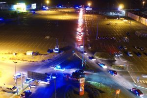 Policyjna kontrola w Swadzimiu  Foto: materiały prasowe / Wielkopolska Policja
