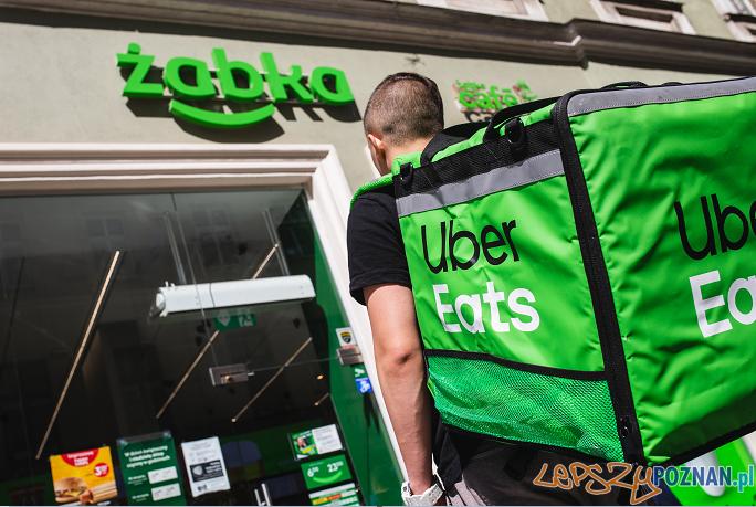 Żabka Uber Eats  Foto: materiały prasowe