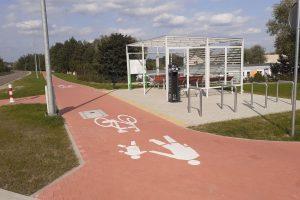 Ścieżka rowerowa Murowana Goślina  Foto: UMIG w Murowanej Goślinie
