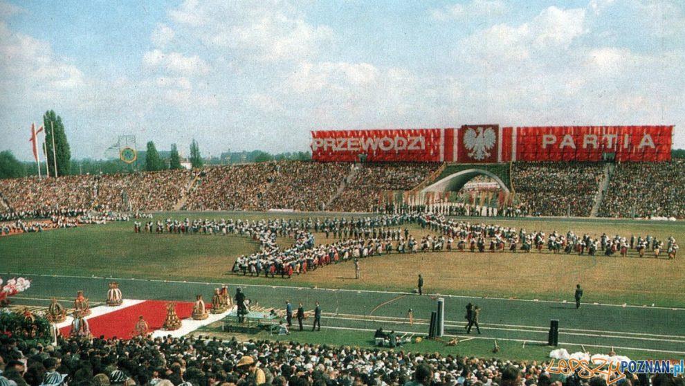 Dożynki 1974 Stadion Wilda  Foto: fotopolska