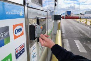 Płatność zbliżeniowa na A2  Foto: Autostrada Wielkopolska