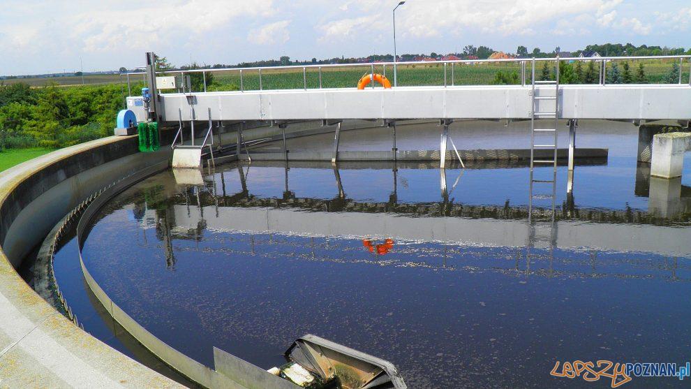 Oczyszczalnia ścieków w Tarnowie Podgórnym  Foto: TP-KOM