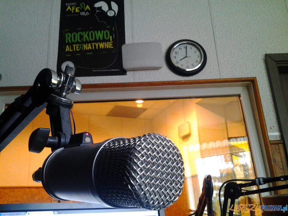 Radio Afera - mikrofon  Foto: lepszyPOZNAN.pl / S9+