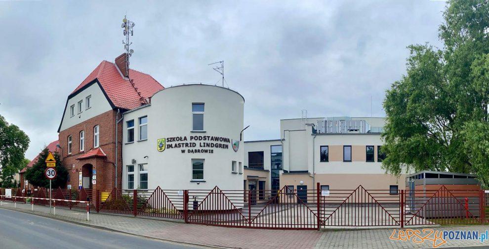 Szkoła Podstawowa im. Astrid Lindgren w Dąbrowie  Foto: Gmina Dopiewo