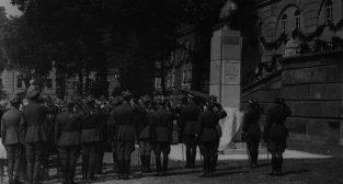 Cytadela pomnik Pilsudskiego 1930  Foto: NAC domena publiczna