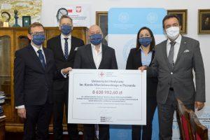 Niemal 9 mln zł na stworzenie Centrum Wsparcia Badań Klinicznych przy UM w Poznaniu  Foto: UMP