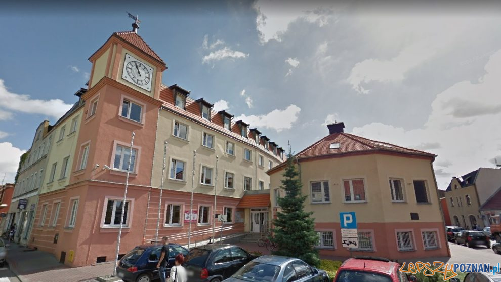 Urząd Miasta i Gminy Pobiedziska  Foto: Google Street View