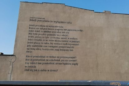Estkowskiego - mural  Foto: Tomasz Dworek