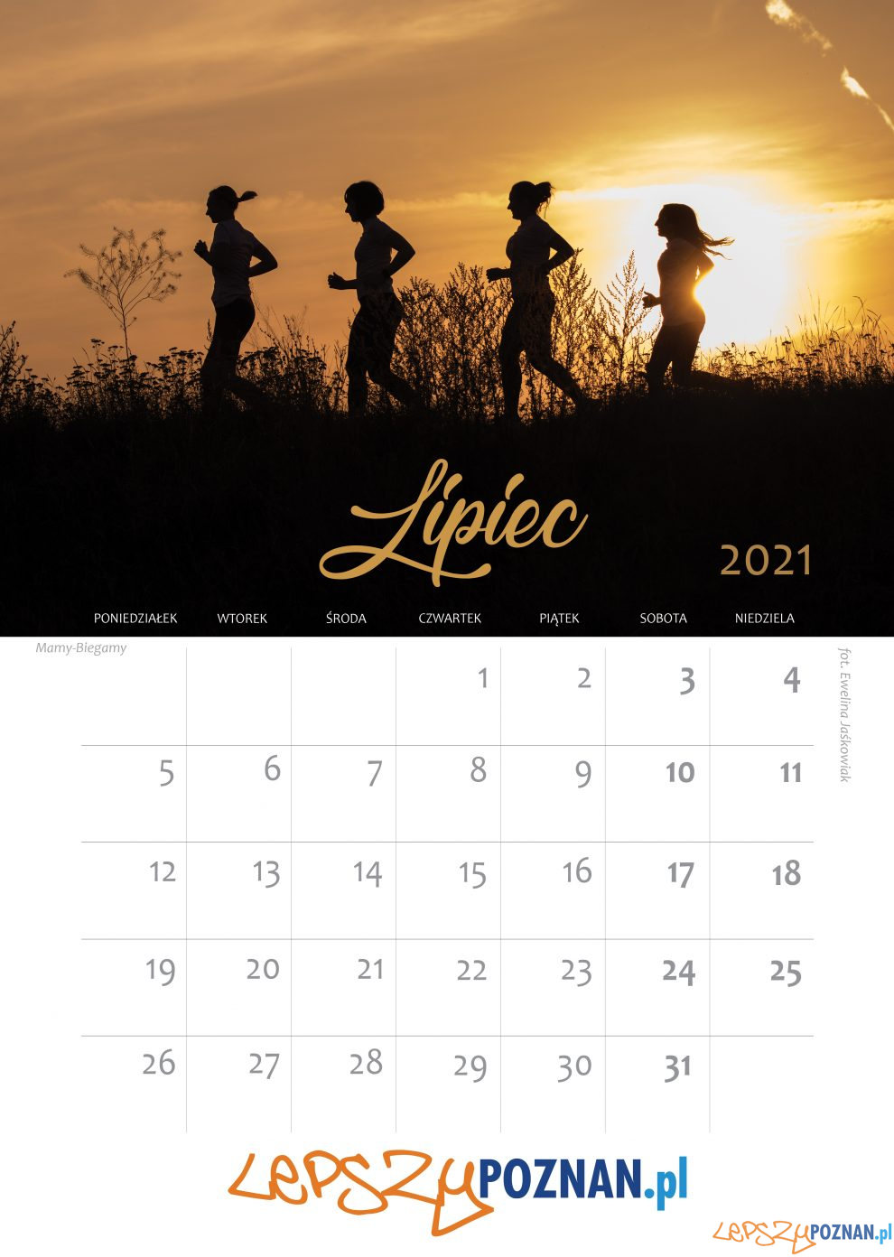 Kalendarz biegaczek - lipiec  Foto: materiały prasowe