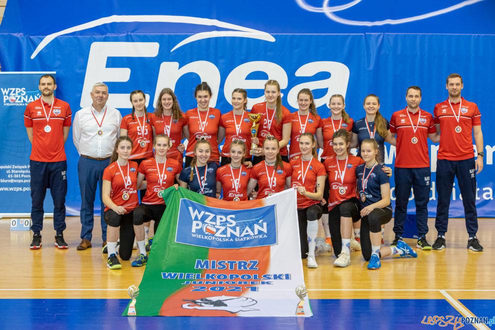 Finał Mistrzostw Wielkopolski Juniorek w Piłce Siatkowej  Foto: lepszyPOZNAN.pl/Piotr Rychter