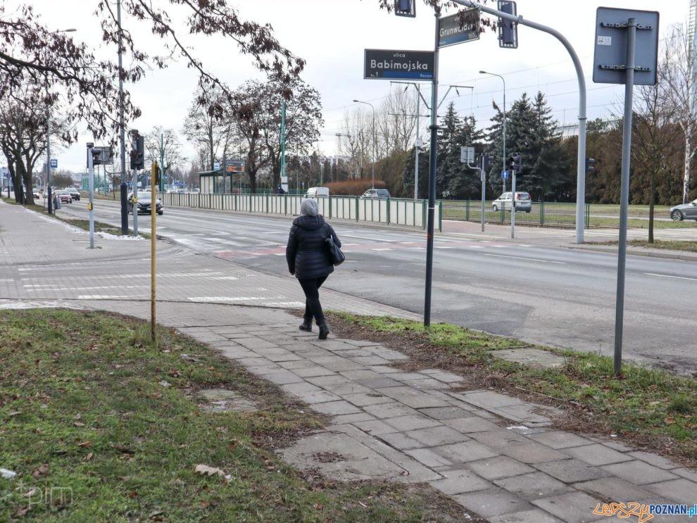Grunwaldzka przy Babimojskiej  Foto: materiały prasowe / PIM