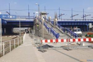 Schody na peron 4  Foto: materiały prasowe / PIM