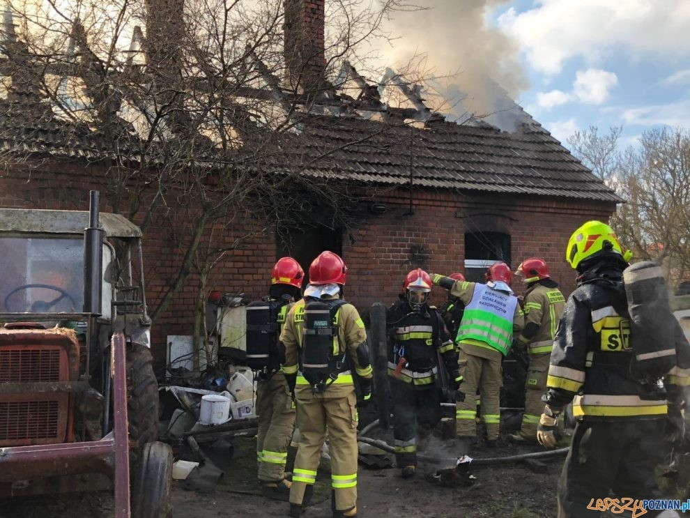 Pomoc dla rodziny, której ogień strawił dom  Foto: UM w Mosinie