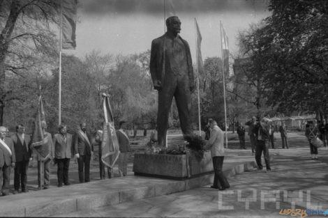Pomnik Marcina Kasprzaka  Foto: Andrzej Szozda / Fundacja Rozwoju Poznania / Cyryl