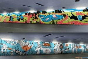 Mural na Golęcinie - wizualizacja  Foto: POSiR