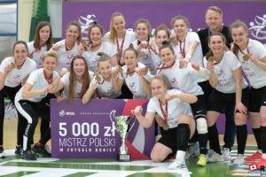 Futsalistki UAM Mistrzyniami Polski  Foto: materiały prasowe / Raju Photography