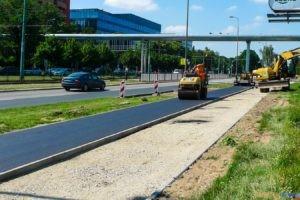 Budowa dróg rowerowych wzdłuż ul. Grunwaldzkiej  Foto: materiały prasowe / PIM