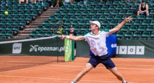 Daniel Michalski (POL) vs Botic Van De Zandschulp (NED) - Poznan  Foto: materiały prasowe / Paweł Rychter / Poznań Open 2021