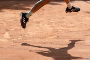 Poznań Open 2021 (Aleksander Szewczenko - Leo Borg), tenis  Foto: lepszyPOZNAN.PL/Piotr Rychter