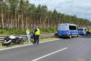 Uderzył w policyjny radiowóz  Foto: materiały prasowe