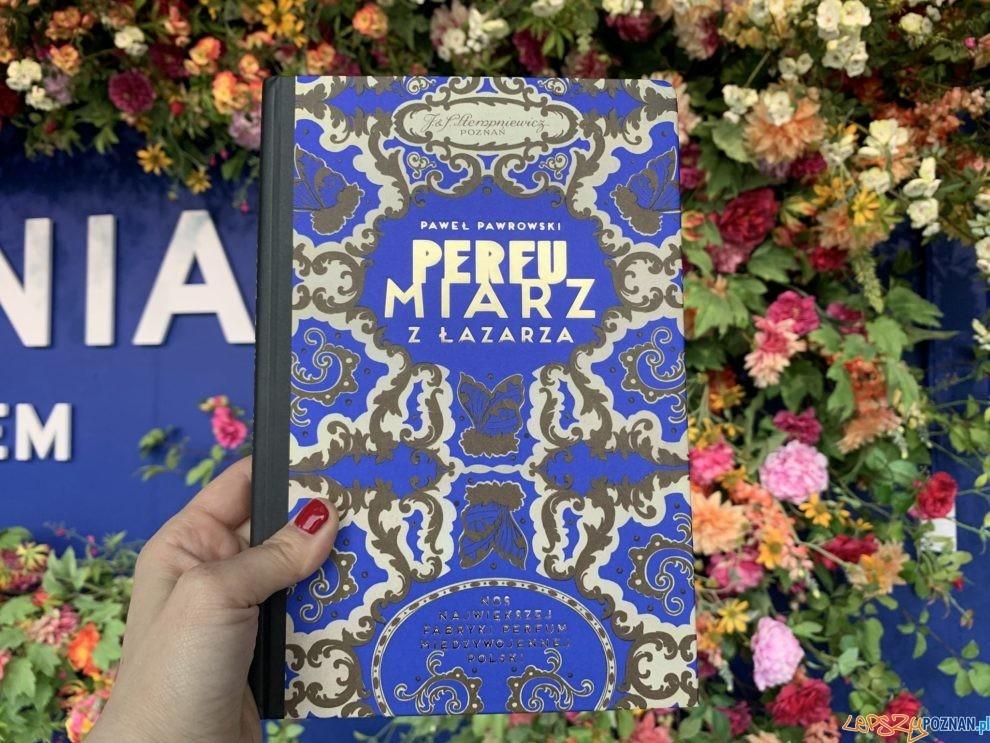 Perfumiarz z Łazarza  Foto: Perfumiarnia w Parku Wilsona / fb