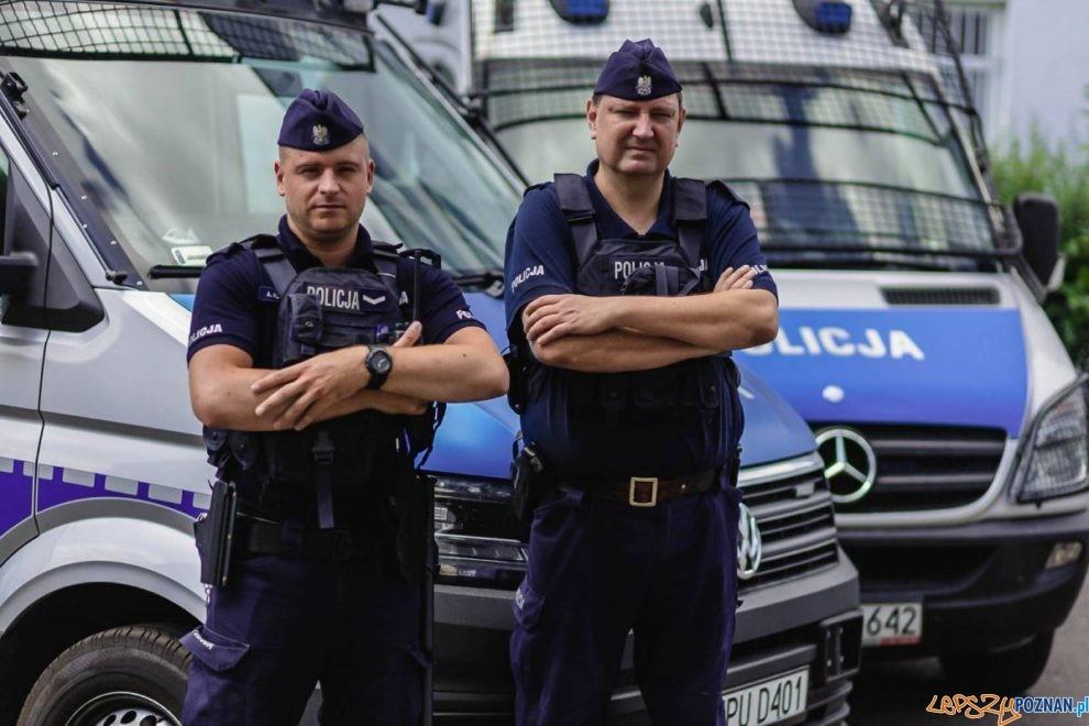 Policjanci z Poznania  Foto: materiały prasowe / KMP