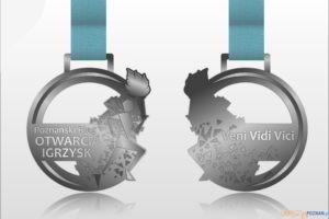 Medal Poznańskiego Biegu Otwarcia Igrzysk  Foto: materiały prasowe