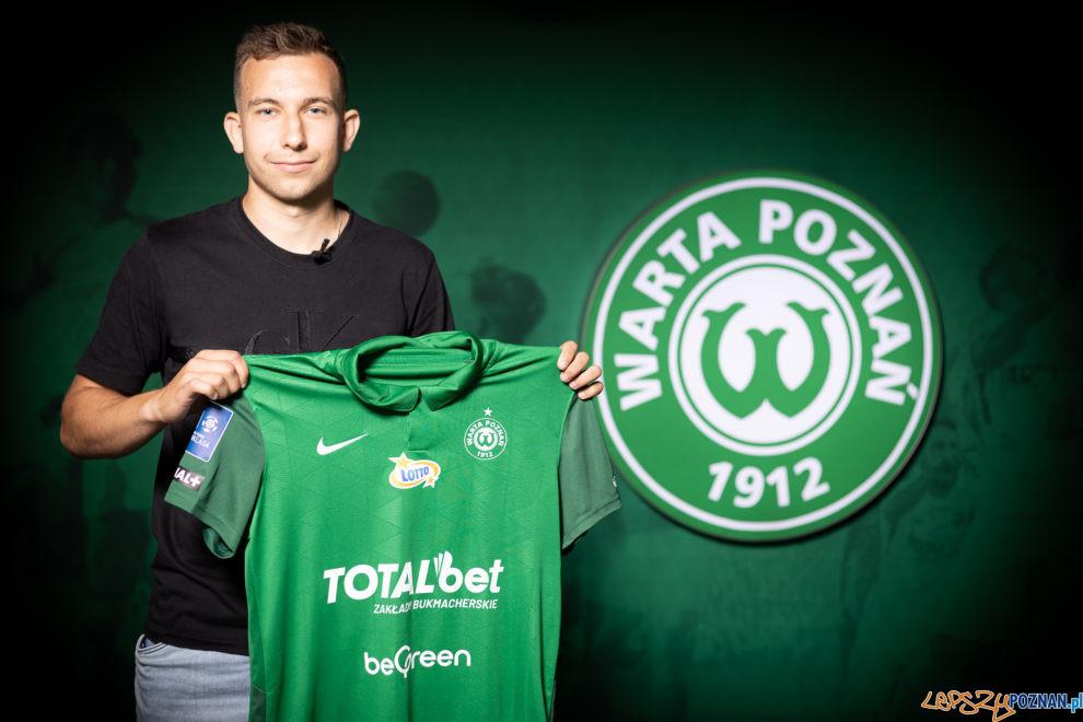 Konrad Matuszewski - KS Warta Poznań  Foto: materiały prasowe / Klaudia Berda / Warta Poznań