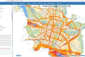 Hałas w mieście - mapa akustyczna  Foto: sip.geopoz.pl
