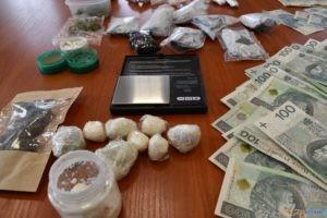 Policjanci zabezpieczyli narkotyki  Foto: FB/ Komenda Powiatowa Policji w Śremie