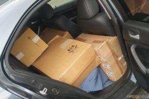 Celnicy przechwycili nielegalny towar wart 45.000 złotych  Foto: Nadodrzański Oddział Straży Granicznej