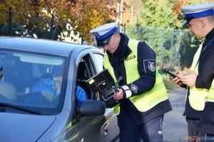 Policyjny dron w akcji  Foto: KPP Oborniki